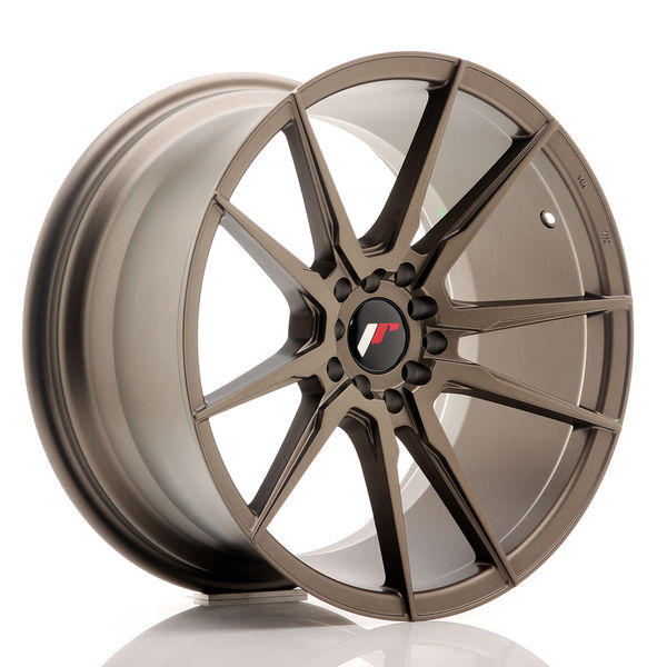 JR Wheels JR21 18x9,5 ET35 5x100/120 Matt Bronze