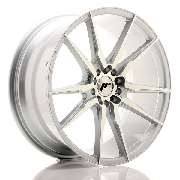 JR Wheels JR21 19x8,5 ET40 5x112/114 Silver Machined Face