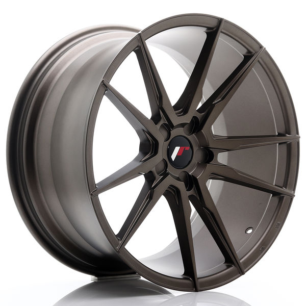 JR Wheels JR21 20x10 ET20-40 5H BLANK Matt Bronze