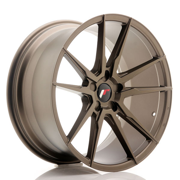 JR Wheels JR21 20x10 ET40 5H BLANK Matt Bronze