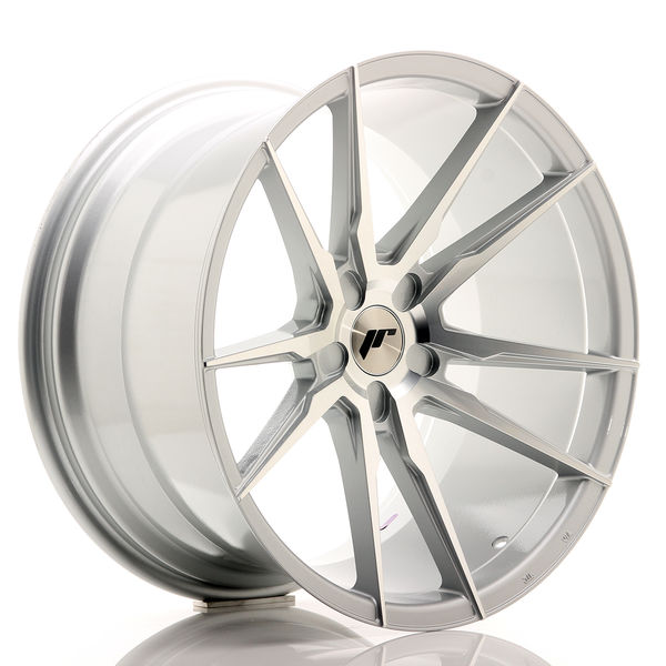 JR Wheels JR21 20x11 ET20-30 5H BLANK Silver Machined Face