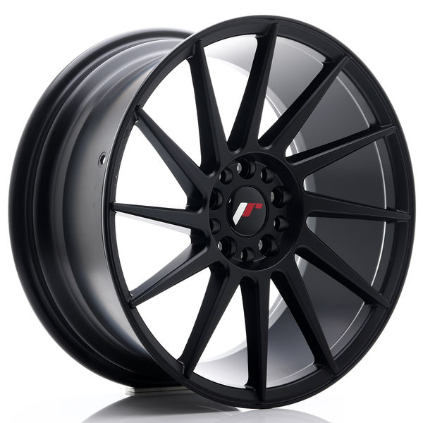 JR Wheels JR22 18x8,5 ET40 5x112/114 Matt Black