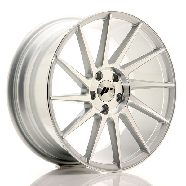 JR Wheels JR22 18x8,5 ET40 5x112/114 Silver Machined Face