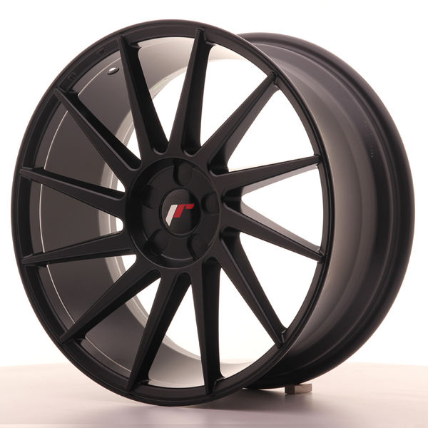 JR Wheels JR22 19x8,5 ET35-43 5H BLANK Matt Black