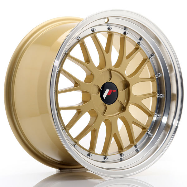 JR Wheels JR23 18x9,5 ET25-48 5H BLANK Gold w/Machined Lip