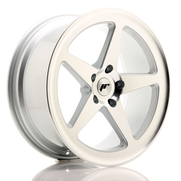 JR Wheels JR24 19x8,5 ET35 5x120 Silver Machined Face