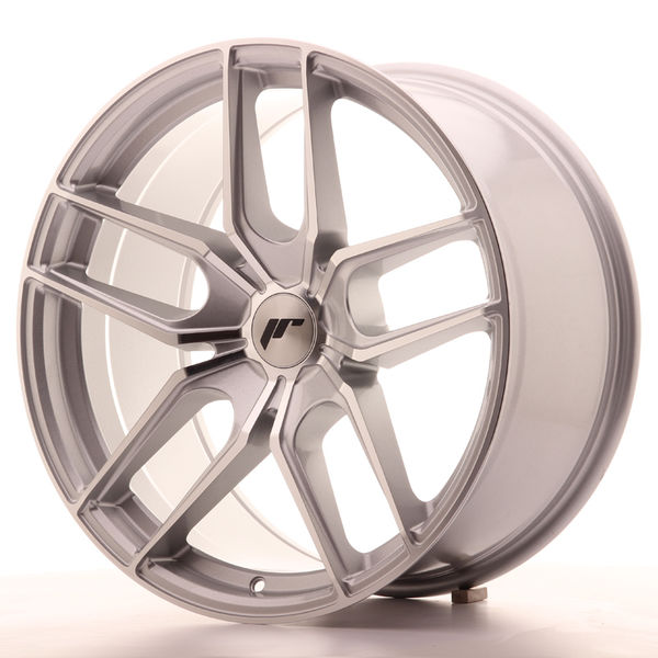 JR Wheels JR25 19x9,5 ET20-40 5H BLANK Silver Machined Face