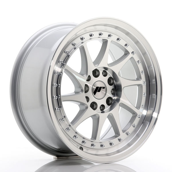 JR Wheels JR26 18x9,5 ET20-40 BLANK Silver Machined Face