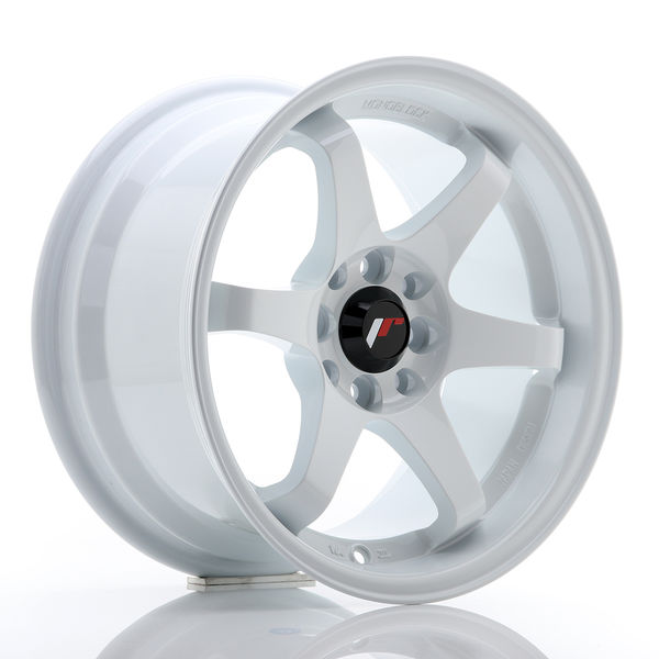 JR Wheels JR3 15x8 ET25 4x100/114 White