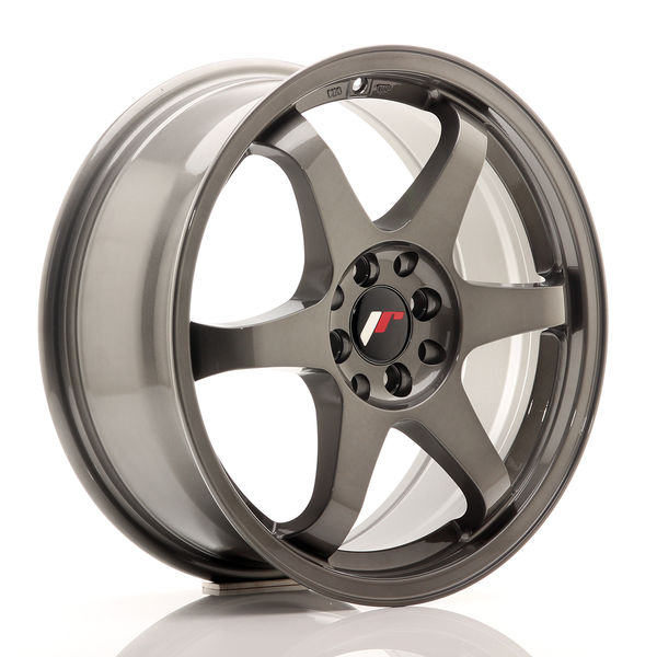 JR Wheels JR3 17x7 ET40 4x100/114 Gun Metal