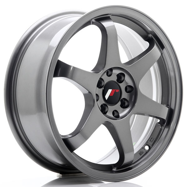 JR Wheels JR3 17x7 ET40 5x100/114 Gun Metal