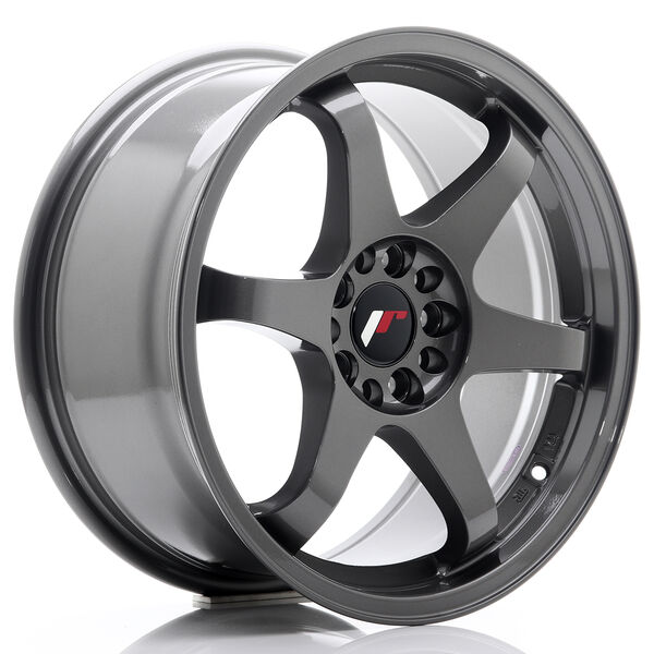 JR Wheels JR3 17x8 ET35 4x100/114 Gun Metal