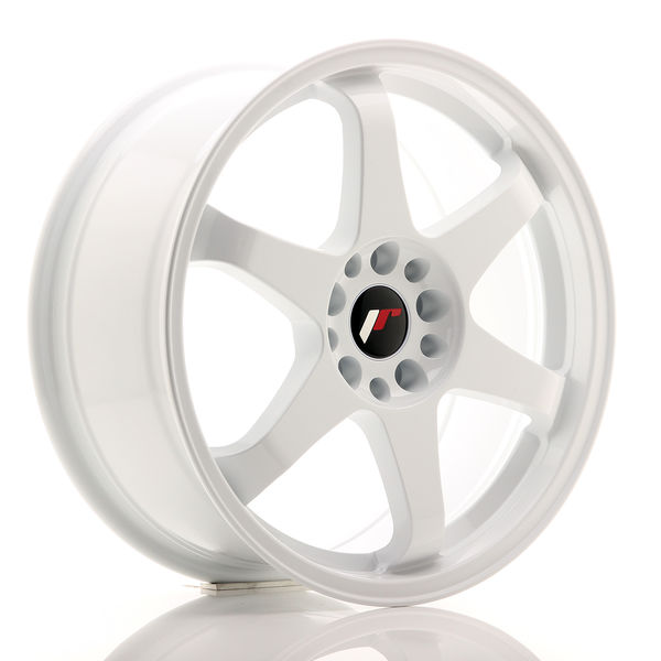 JR Wheels JR3 18x8 ET30 5x114/120 White