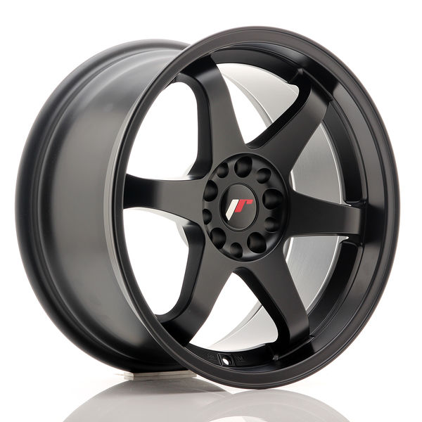 JR Wheels JR3 18x9 ET15 5x114/120 Matt Black