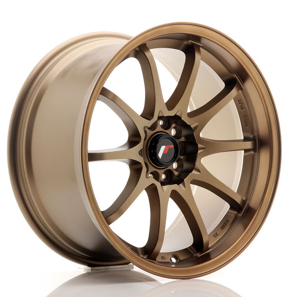 JR Wheels JR5 18x9,5 ET22 5x114,3 Dark Anodized Bronze