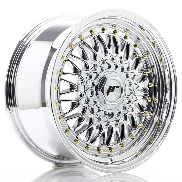 JR Wheels JR9 16x8 ET25 4x100/108 Chrome