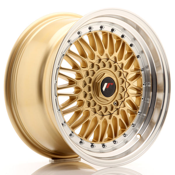 JR Wheels JR9 17x8,5 ET20 4x100/108 Gold w/Machined Lip