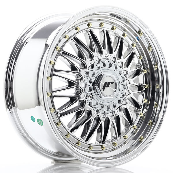 JR Wheels JR9 18x8 ET35-40 BLANK Chrome