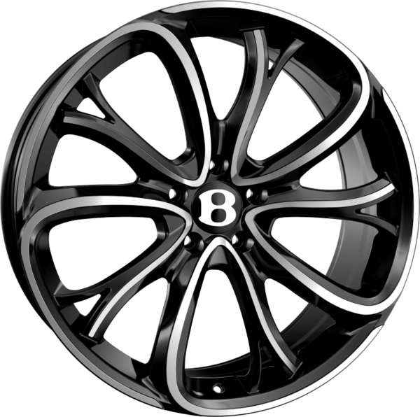 21x9.5 5x112 ET35 SSR III Black Polished R13