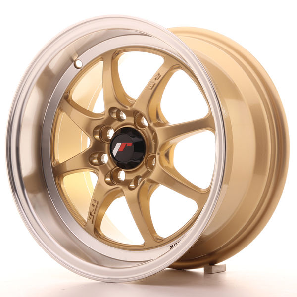 JR Wheels TF2 15x7,5 ET10 4x100/114 Gold