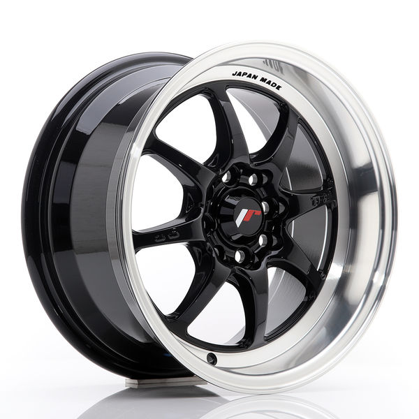 JR Wheels TF2 15x7,5 ET30 4x100/114 Gloss Black